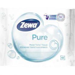 Туалетная бумага Zewa Pure 42 шт (7322540796582)