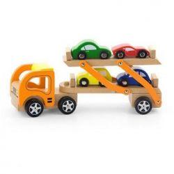 Развивающая игрушка Viga Toys Автотрейлер (50825)