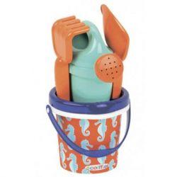 Игрушка для песка Ecoiffier Морской конек в ведерке (000691)