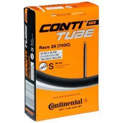 """Велосипедная камера Continental Race 28"""" 18-622 / 25-630 PR80mm (180000) - Картинка 1"""