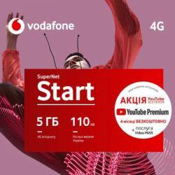Стартовый пакет Vodafone SuperNet Start 2020