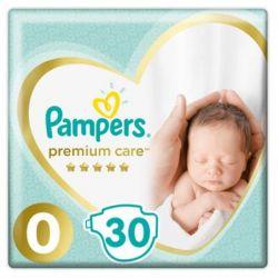 Подгузник Pampers Premium Care Micro Размер 0 (<3 кг) 30 шт (4015400536857)