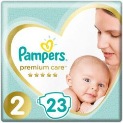 Подгузник Pampers Premium Care Mini Размер 2 (4-8 кг), 23 шт (8001841104652)