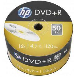Диск DVD HP DVD+R 4.7GB 16X 50шт (69305/DRE00070-3)