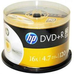 Диск DVD HP DVD+R 4.7GB 16X 50шт Spindle (69319)
