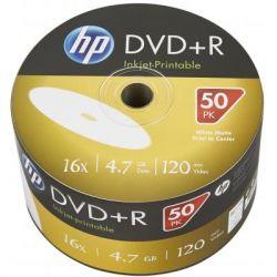 Диск DVD HP DVD-R 4.7GB 16X IJ PRINT 50шт (69302)