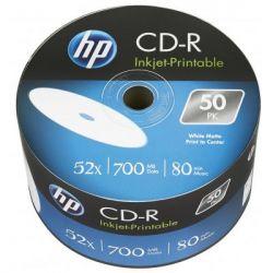 Диск CD HP CD-R 700MB 52X IJ PRINT 50шт (69301)