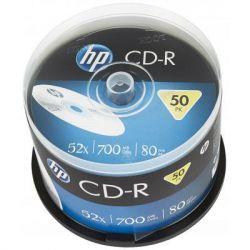 Диск CD HP CD-R 700MB 52X 50шт Spindle (69307)