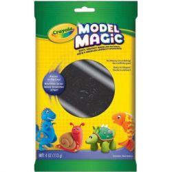 Набор для творчества Crayola Model Magic Застывающий пластилин черный (113 гр) (57-4451)