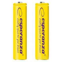 Аккумулятор Esperanza AAA 1000mAh Ni-MH * 2 yellow (EZA101Y)