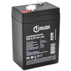 Батарея к ИБП Europower 6В 4.5Ач (EP6-4.5F1)