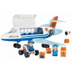 Игровой набор Ecoiffier Самолет с людьми и грузом (003155)