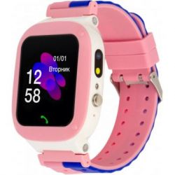 Смарт-часы Discovery iQ4700 Camera LED Light Pink Детские смарт часы-телефон трек (iQ4700 Pink)