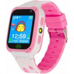 Смарт-часы Discovery iQ4800 Camera LED Light Pink Детские смарт часы-телефон трек (iQ4800 Pink)