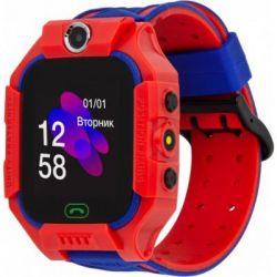 Смарт-часы Discovery iQ5000 Camera LED Light Red Детские смарт часы-телефон треке (iQ5000 Red)