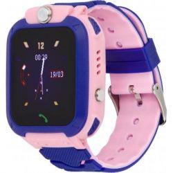 Смарт-часы ATRIX D200 Thermometer pink Детские телефон-часы с термометром (atxD200thp)