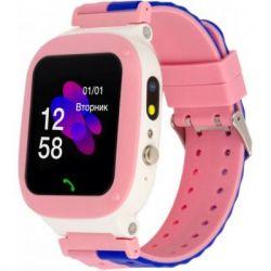Смарт-часы ATRIX iQ2200 IPS Cam Flash Pink Детские телефон-часы с трекером (iQ2200 Pink)