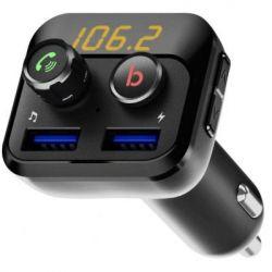 Автомобильный МР3 плеер FM Transmitter Grand-X 98GRX MegaBass, Bluetooth V5.0, Hands Free, MicroSD,