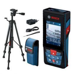 Дальномер BOSCH GLM 120C + штатив BT 150, 0.08-120м, Bluetooth (0.601.072.F01)