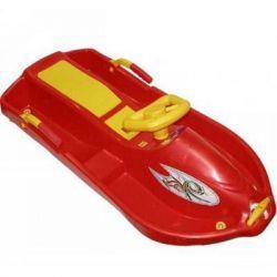 Санки Plastkon Snow boat красные (42522)