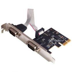 Контроллер PCI-E - RS232 (COM) STLab I-560 2 канала, чипсет Exar XR17V352