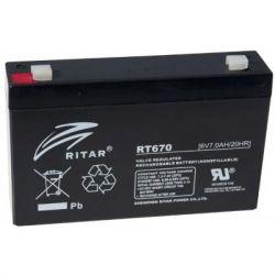 Батарея к ИБП Ritar RT670, 6V-7.0Ah (RT670)