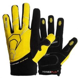 Велоперчатки PowerPlay 6556 Yellow XXL (6556_XXL_Yellow)