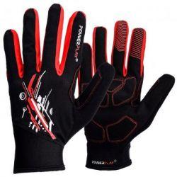 Велоперчатки PowerPlay 6607 Black/Red S (PP_6607_S_Red/Black)