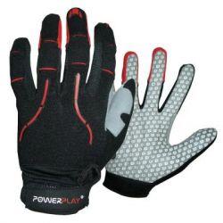 Велоперчатки PowerPlay 6662 Black/Red L (PP_6662_L_Red)