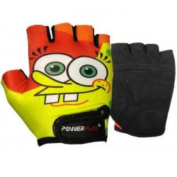 Велоперчатки PowerPlay Children 5473 Sponge Bob Yellow/Orange S (5473BOB_S_Yellow)