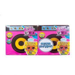 Кукла L.O.L. Surprise! Remix Hairflip - набор из 2 кукол Музыкальный сюрприз (566960-А)