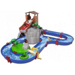 Игровой набор AquaPlay Приключения в горах с горкой и тоннелем 2 фигурки (8700001547) - Картинка 1
