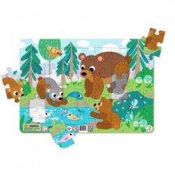 Пазл DoDo с рамкой Медвежата (R300221)