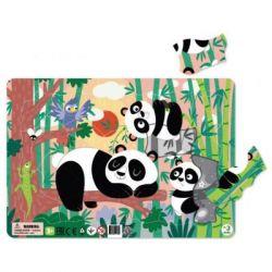 Пазл DoDo с рамкой Панды (R300222)