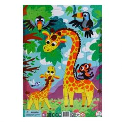 Пазл DoDo с рамкой Жираф (R300223)