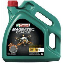 Моторное масло Castrol MAGNATEC STOP-START 5W-30 C3 4л (CS 5W30 M SS C3 4L)