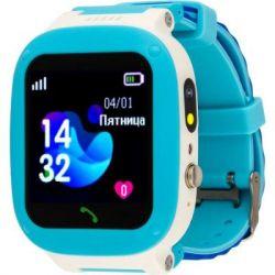 Смарт-часы AmiGo GO004 Splashproof Camera+LED Blue