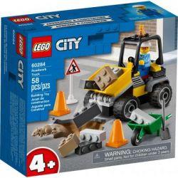 Конструктор LEGO City Great Vehicles Пикап для дорожных работ 58 деталей (60284)