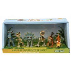 Фигурка Baby Team набор Динозавры 6 шт (8832)