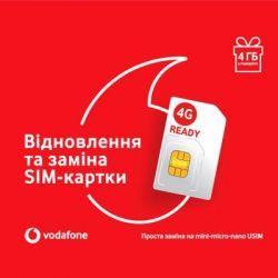 Стартовый пакет Vodafone USIM