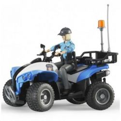 Спецтехника Bruder полицейский квадроцикл + фигурка полисмен (63010)