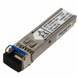 Модуль SFP Alistar Модуль SFP 1000BASE-BX 1SM WDM LC 3KM TX1310/RX1550nm DDM (SFP-1G-BX-U-L03)