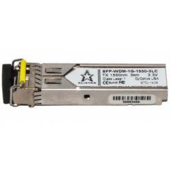 Модуль SFP Alistar Модуль SFP 1000BASE-BX 1SM WDM LC 3KM TX1550/RX1310nm DDM (SFP-1G-BX-D-L03)