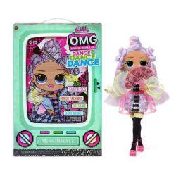 Кукла L.O.L. Surprise! серии O.M.G. Dance Мисс Роял (117872)