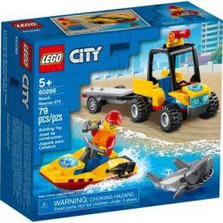 Конструктор LEGO City Great Vehicles Вездеход пляжных спасателей 79 деталей (60286)