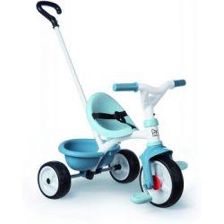 Детский велосипед Smoby Be Move 2 в 1 с багажником Голубой (740331)