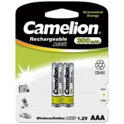 Аккумулятор Camelion AAA 300mAh Ni-Cd *2 R03-2BL (NC-AАA300BP2)