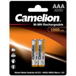 Аккумулятор Camelion AAA 1000mAh Ni-MH * 2 R03-2BL (NH-AAA1000BP2)