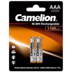 Аккумулятор Camelion AAA 1100mAh Ni-MH * 2 R03-2BL (NH-AAA1100BP2)