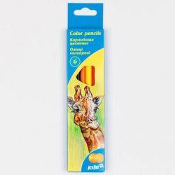 Карандаши цветные Kite Животные 6 шт. (K15-050)